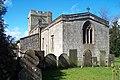 All Saints Church, Bradbourne - geograph.org.uk - 155865.jpg