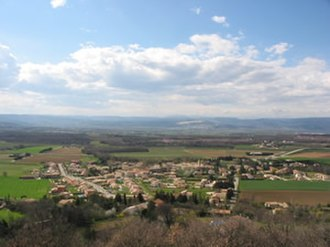 Allan, Drôme - A general view of Allan