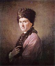 A 1766 portrait of Rousseau by Allan Ramsay