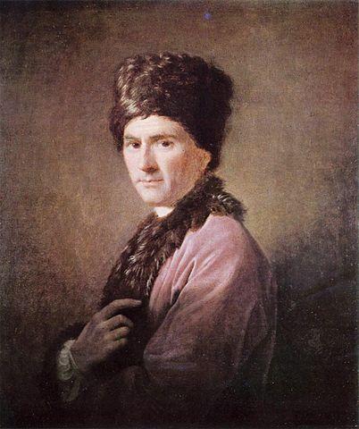 Портрет Руссо в Шотландской национальной галерее