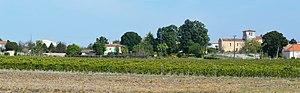 Allas-Champagne - Panorama of Allas-Champagne