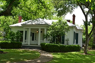 National Register of Historic Places listings in Bastrop County, Texas - Image: Allen Bell House, Bastrop, Texas