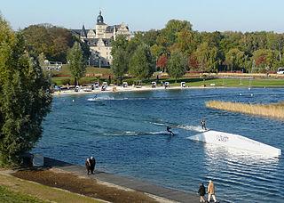 Allerpark Park in Wolfsburg