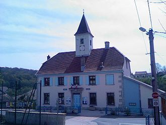 Allondans - Town hall