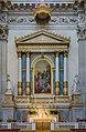 Altare del SS Sacramento Rodolfo Vantini pala Michelangelo Grigoletti duomo nuovo Brescia.jpg