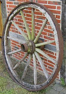oppfinnelsen av hjulet