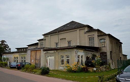 Gasthaus Schweizer Garten. Am alten Bahnhof 32 (Wittenberg)