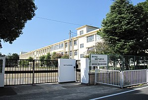 Amagasaki City Muko junior high school.JPG