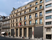 Ambassade du Canada en France, 130 rue du Faubourg Saint-Honoré, Paris 8e.jpg