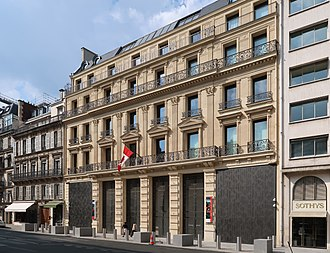 Embassy of Canada, Paris - The embassy in July 2018
