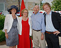 Ambassador and Julie Jacobson with MP Elizabeth May and guest.jpg