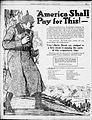 America Shall Pay For This! Liberty Bonds advertisement 1918.jpg