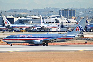 American Airlines Flight 331 - N977AN at LAX in April 2007, 2 years and 8 months before the accident.