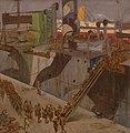American Troops Embarking, Southampton, 1918 Art.IWMART1279.jpg