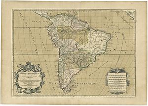 "Hubert Jaillot - The ""South America"""