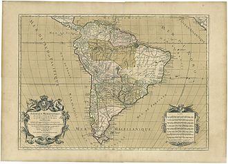"Hubert Jaillot - The ""South America"""