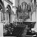 Amsterdam. Interieur van de Westerkerk met het grote orgel en de preekstoel, Bestanddeelnr 918-1326.jpg