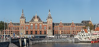 Amsterdam Centraal station central railway station of Amsterdam