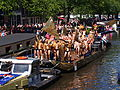 Amsterdam Gay Pride 2013 boat no44 UpstreamA,sterdam pic7.JPG