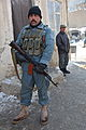 An Afghan Uniformed Police (AUP) officer poses for a photo at the AUP prison in the Pul-e-Alam district, Logar province, Afghanistan, Jan. 28, 2012 120128-A-BZ540-127.jpg