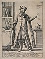 An old-fashioned Renaissance doctor. Etching by G.M. Mitelli Wellcome V0011953.jpg