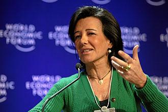 Ana Patricia Botín - Ana Patricia Botín during the World Economic Forum Annual Meeting 2009 in Davos