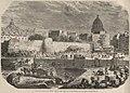Anciens murs de Paris découverts par les démolitions de la place Saint-Michel.jpg