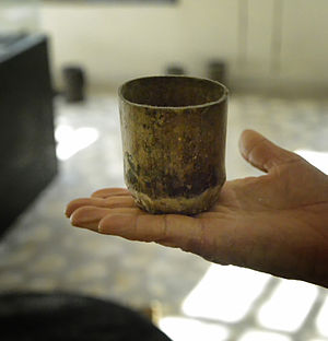 Ethiopian Highlands - A coffee cup from the era of the Kaffa Kingdom