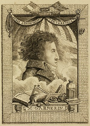 André-Jacques Garnerin - Image: André Jacques Garnerin by Edward Hawke Locker 1802