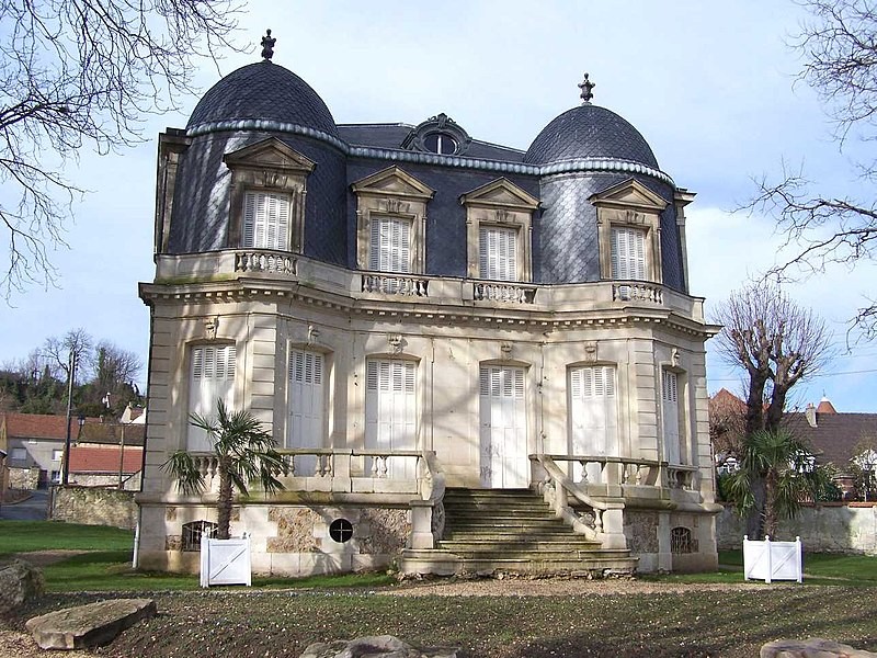 Castle in Andrésy (Yvelines, France)