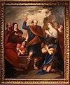 Andrea de lione, san gregorio armeno guarisce re tiridate III, 1650 circa (na) 01.JPG