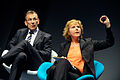 Andris Piebalgs EU kommissionar i energifragor och Connie Hedegaard Danmarks energi- och klimatminister under Nordic Climate Solutions. 2009-09-09 (1).jpg