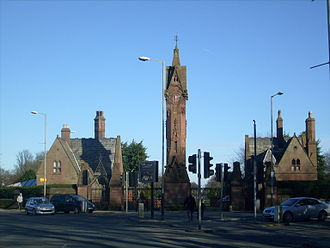 Parks and open spaces in Liverpool - Image: Anfield Cemetery Feb 11 2010