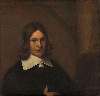 Pieter de Hooch - Pieter de Hooch, self-portrait