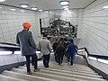 Anhalter Bahnhof durante tour de wikimedistas en Wikimedia Conference 2016 (2).jpg