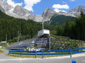 Rasen-Antholz - Biathlon track