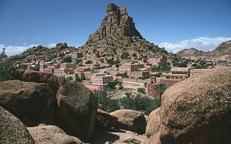 Tafraout - Image: Antiatlas westl nahe tafraoute