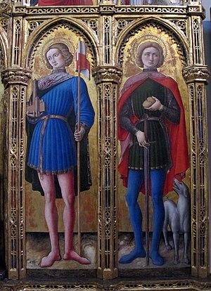Saint Roch - Saint Roch, in Pinacoteca Vaticana