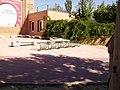 Aparcabicis del Jardín Botanico (Ciudad Universitaria, Moncloa, Madrid) - panoramio.jpg
