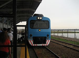 General Urquiza Railway - Posadas-Encarnación International Train at Posadas
