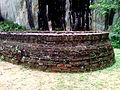 Apsidal stupa walls at Gurubhaktulakonda.jpg