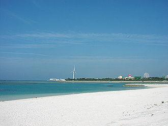 Chatan, Okinawa - Araha Beach
