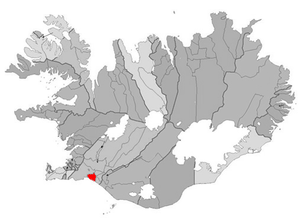 Selfoss (town) - Image: Arborg