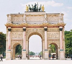 Auguste Marie Taunay - Image: Arc de triomphe du carrousel paris