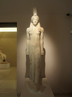 Archaeological Museum of Marathon 10 - Egyptian-style statue.jpg