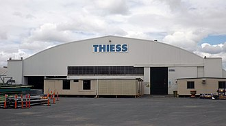 Archerfield Second World War Igloos Complex - Igloo No. 4 is occupied by Thiess