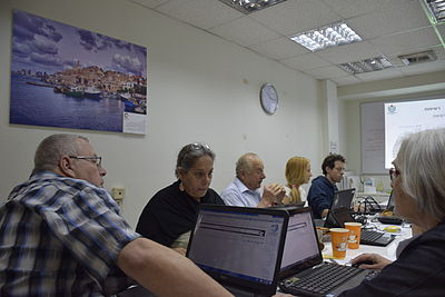 Archivists course on Wikimedia projects 29.4 2015 (11).JPG