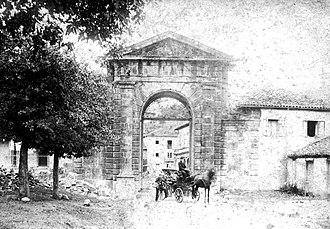 Jean Curtius - Image: Arco La Cavada 1890