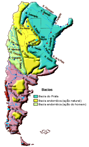 Water Resources Management In Argentina Wikipedia - Argentina map mountains