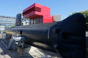 French submarine Argonaute (S636) - Argonaute on display
